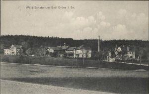 Gruena Sachsen Gruena Chemnitz Wald-Sanatorium  x / Chemnitz /Chemnitz Stadtkreis