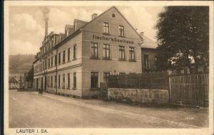Lauter Schwarzenberg Erzgebirge Lauter Sachsen Fischers Gasthaus * / Lauter Sachsen /Erzgebirgskreis LKR