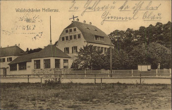 Hellerau Waldschaenke x Nr. wq73029 - oldthing: Ansichtskarten ...