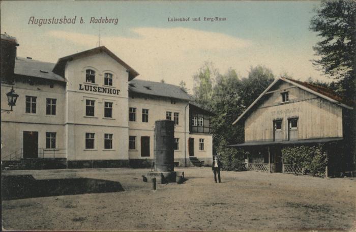 Liegau-Augustusbad Liegau-Augustusbad Luisenhof Berg-Haus * / Radeberg /Bautzen LKR