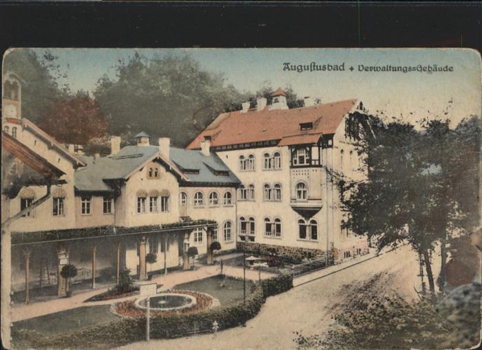 Liegau-Augustusbad Verwaltungsgebaeude *
