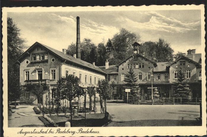 Liegau-Augustusbad Badehaus *