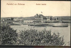 Paulsdorf Dippoldiswalde Maltersee Gasthof Seeblick x