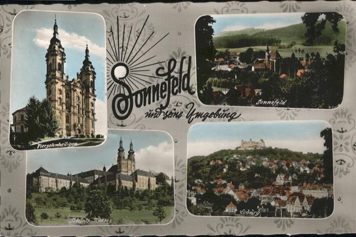 Sonnefeld Schloss banz Vierzehnheiligen