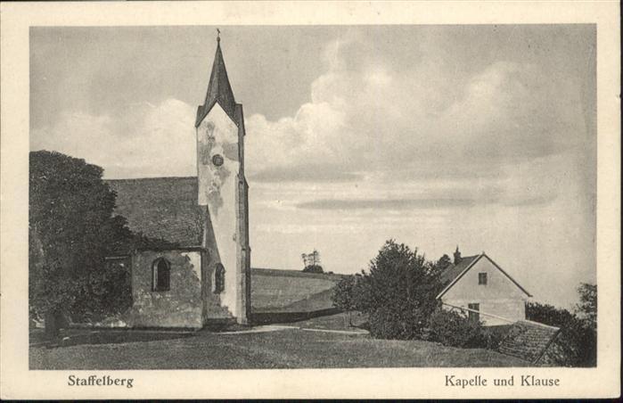Staffelberg Kapelle Klause