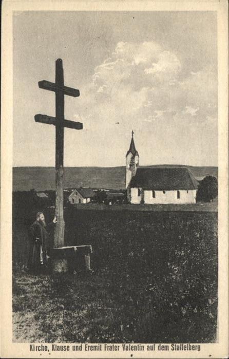 Staffelberg Kirche klause Eremit Frater Valentin