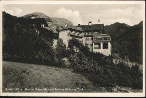 Zirl Gasthof Kaiser Max Solstein