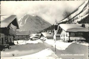 Leutasch Obere Gasse Winter