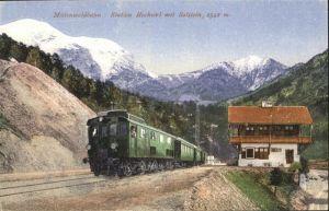 Zirl Mittenwaldbahn Solstein