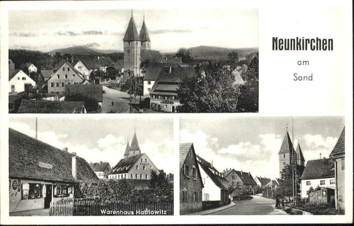Neunkirchen Sand Warenhaus Hablowitz