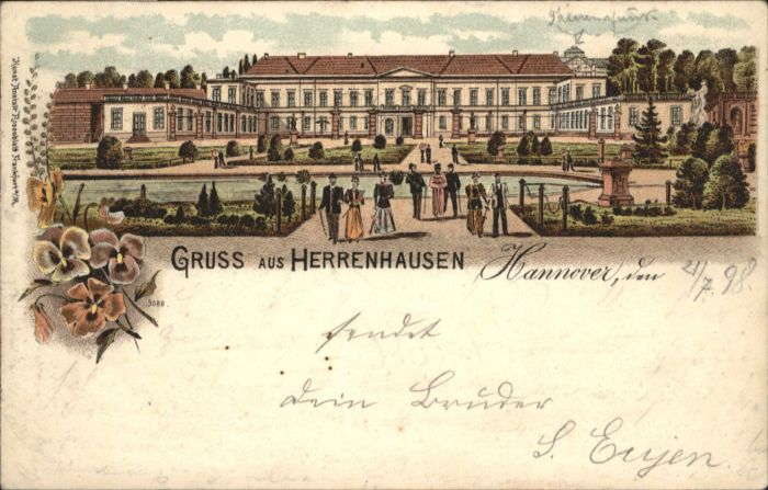 Herrenhausen Hannover  x