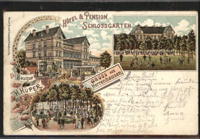 Herrenhausen Hannover Herrenhausen Hannover Hotel Pension Schlossgarten x / Hannover /Region Hannover LKR