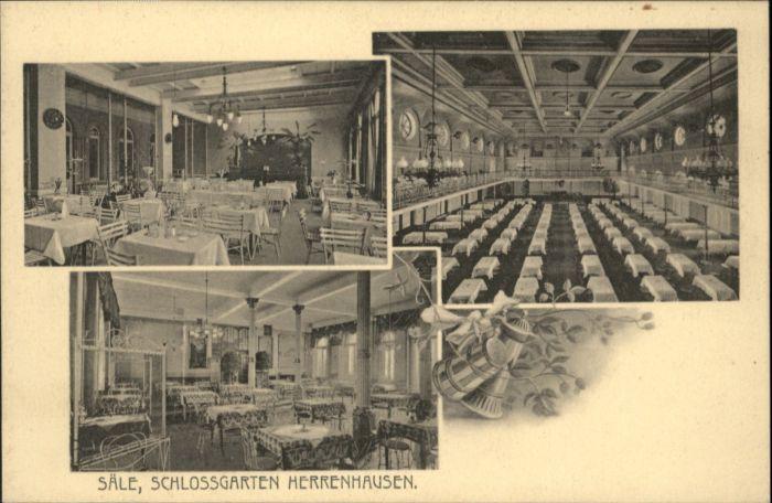 Herrenhausen Hannover Herrenhausen Hannover Schlossgarten * / Hannover /Region Hannover LKR