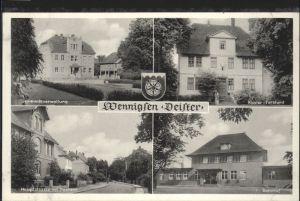 Wennigsen Wennigsen Deister Gemeindeverwaltung Bahnhof Forstamt Wappen * / Wennigsen (Deister) /Region Hannover LKR