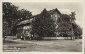 Mueden oertze Mueden oertze Gasthaus zur Post * / Fassberg /Celle LKR