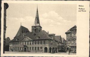 Uelzen Lueneburger Heide Uelzen Rathaus Kirche  * / Uelzen /Uelzen LKR