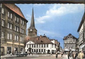Uelzen Lueneburger Heide Uelzen Rathaus St Marien Kirche  x / Uelzen /Uelzen LKR