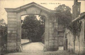 Marly FR  Entree du Bois