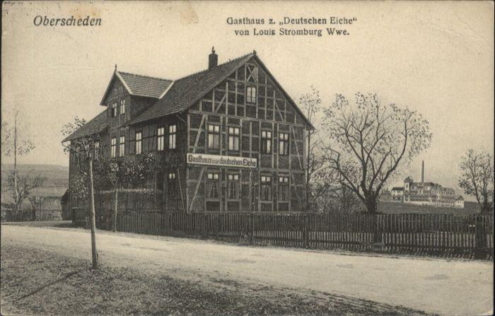 Oberscheden Gasthaus Zur Deutschen Eiche X Nr Ws82925 Oldthing