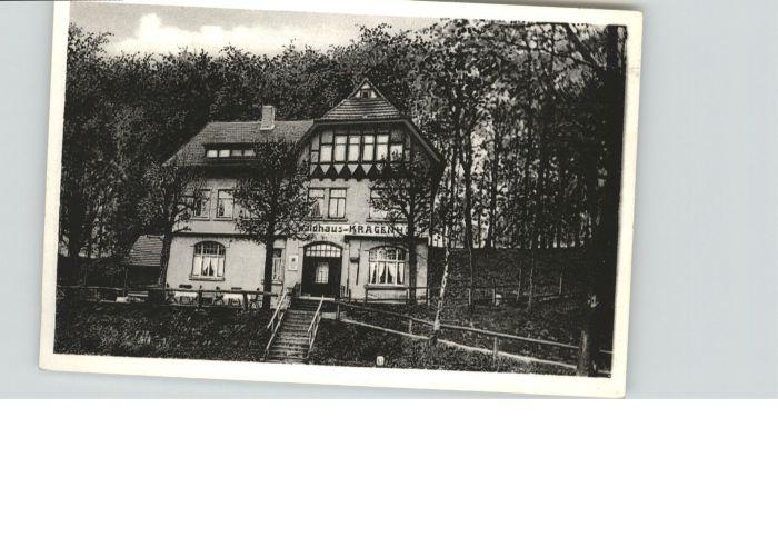 Spiekershausen Fremdenheim Waldhaus Kragenhof *