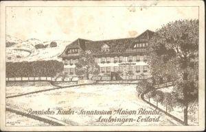 Evilard Bernisches kinder Sanatorium Maison Blanche Leubringen x