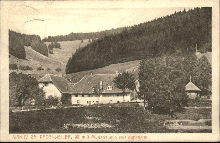Sirnitz Gasthaus zum Auerhahn x