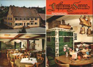 Rheinweiler Gasthof Sonne *