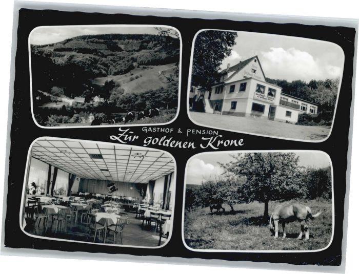 Eiterbach Gasthof zur goldenen Krone x