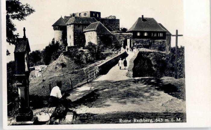 Rechberg Schwaebisch Gmuend Ruine Rechberg *