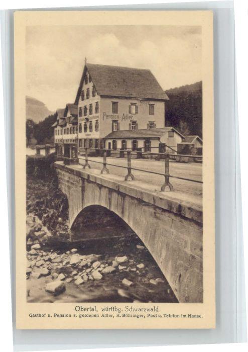 Obertal Baiersbronn Gasthof Pension zum goldenen Adler *