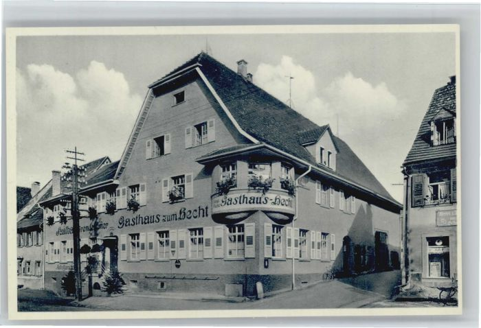 Geisingen Baden Geisingen Baden Gasthaus zum Hecht * / Geisingen /Tuttlingen LKR