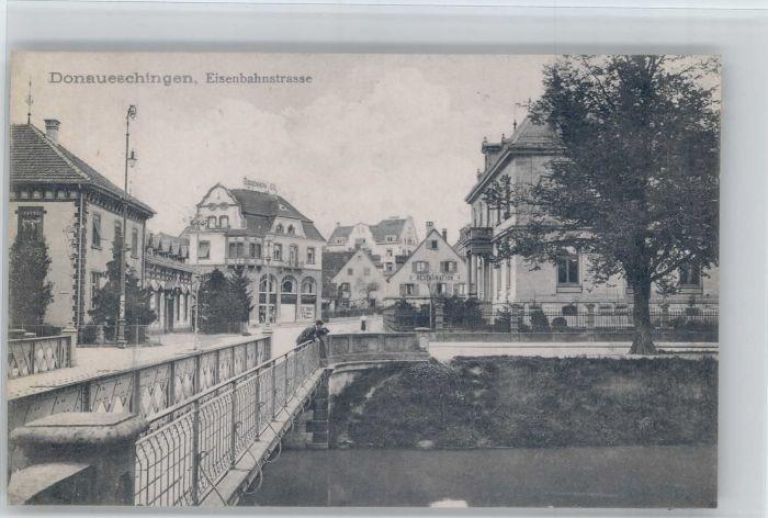 Donaueschingen Donaueschingen Eisenbahnstrasse * / Donaueschingen /Schwarzwald-Baar-Kreis LKR