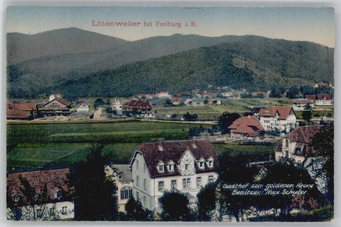 Littenweiler Gasthof zur goldenen Krone *