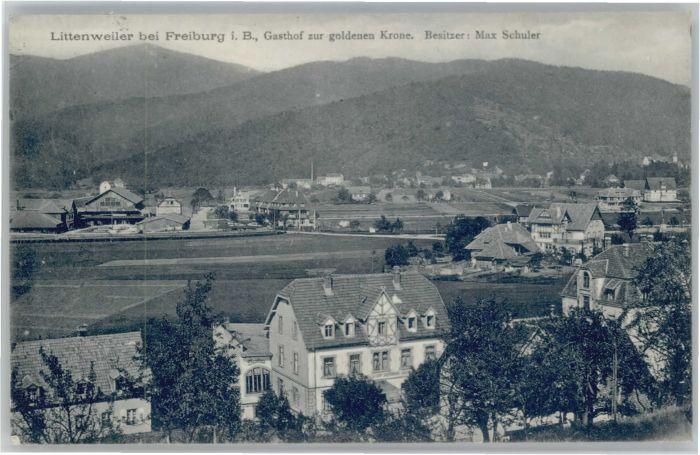 Littenweiler Gasthof zur goldenen Krone x