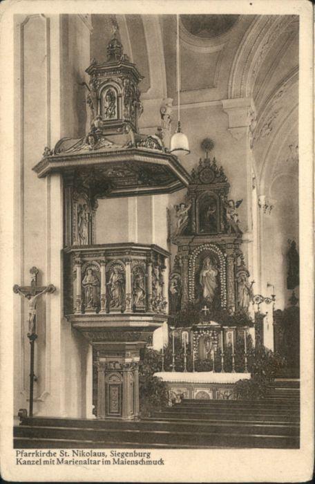 Siegenburg Kirche St Nikolaus *