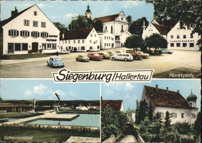 Siegenburg Schwimmbad Marktplatz Schloss x