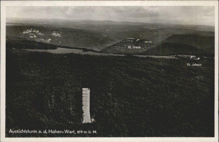Hohenwart Paar Hohenwart Aussichtsturm Fliegeraufnahme  * / Hohenwart /Pfaffenhofen LKR