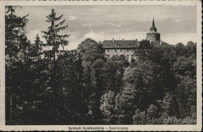Grottau Tschechien Schloss Grafenstein Sudetengau / Hradek nad Nisou /Liberec