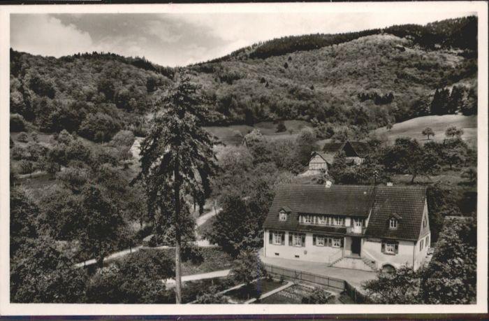 Sehringen Gasthaus zum gruenen Baum *