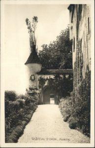 Oron-le-Chatel Chateau d'Oron  *