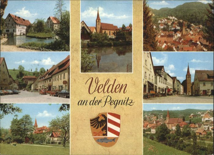 Velden Mittelfranken Velden Mittelfranken Wappen  x / Velden Pegnitz /Nuernberger Land LKR