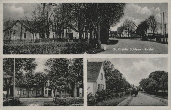Gross Rheide Gross Rheide Gasthaus * / Gross Rheide /Schleswig-Flensburg LKR