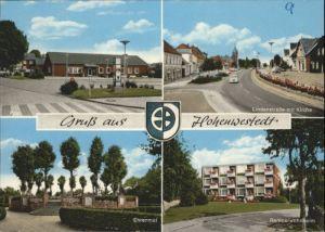 Hohenwestedt Rentnerwohnheim Ehrenmal Lindenstrasse *