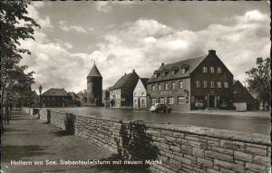 Haltern Haltern See Siebenteufelsturm Turmcafe x / Haltern am See /Recklinghausen LKR