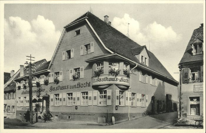 Geisingen Baden Geisingen Gasthaus Hecht * / Geisingen /Tuttlingen LKR