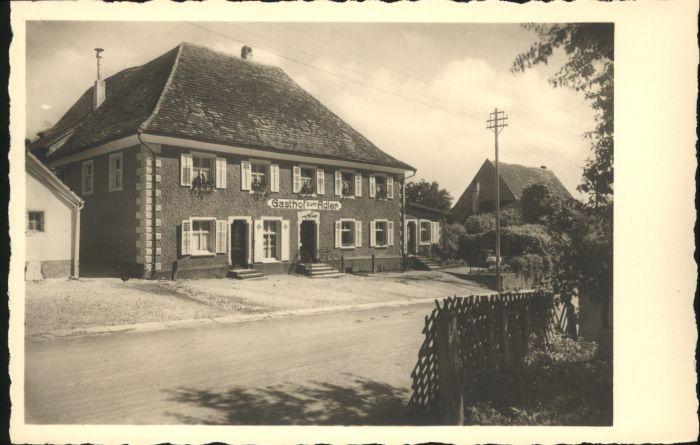 Tengen Gasthof Adler *