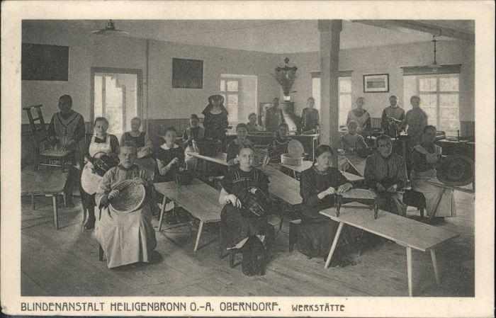 Heiligenbronn Schramberg Oberndorf Blindenanstalt Werkstaette *