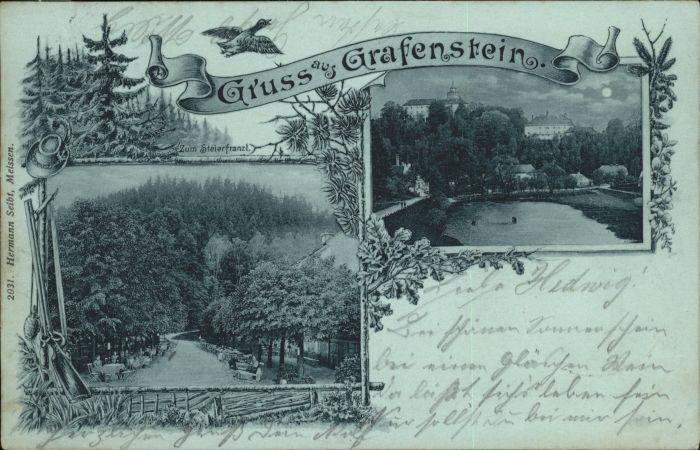 Grafenstein Grottau Zum Steierfranzl x / Hradek nad Nisou /Liberec