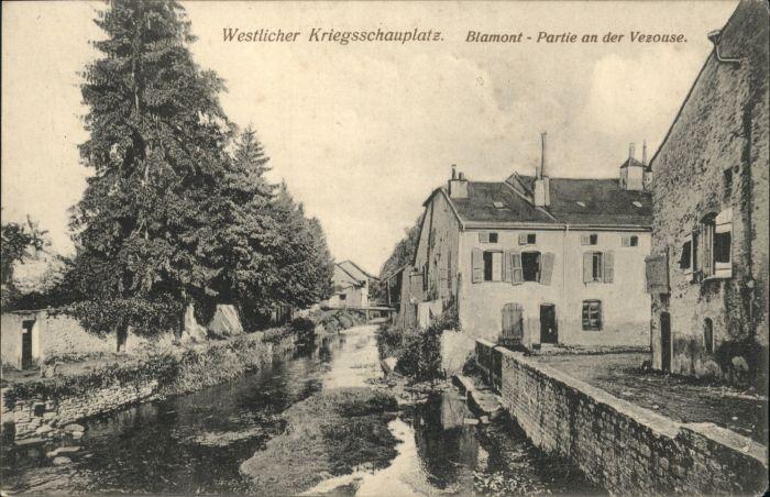 Blamont Meurthe-et-Moselle Blamont Vezouse x
