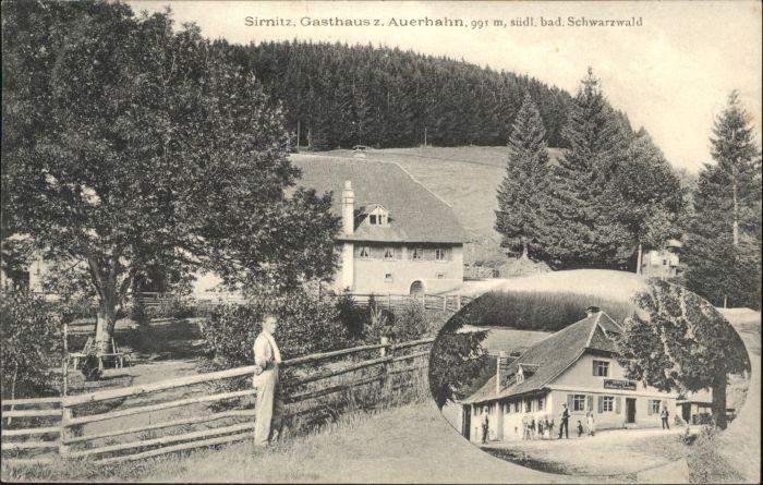 Sirnitz Gasthaus Auerhahn Schwarzwald x